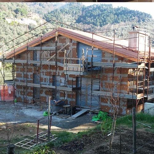 Ristrutturazione tetto e cappotto